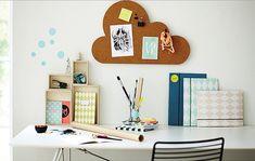 Quadro de cortiça para seu quarto, escritório, sala de estudos, hall de entrada…