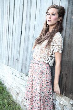 Boho Fashion Rob Deaton Photography Sarah Everett MUA, Model: Renee Prows