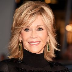 Jane Fonda's Changing Looks - 2014 from InStyle.com