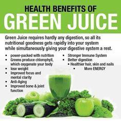 Health benefits of green juice healthy living, health fitness, health Healthy Juices, Healthy Smoothies, Healthy Drinks, Get Healthy, Healthy Snacks, Green Smoothies, Smoothie Recipes, Juice Recipes, Nutribullet Recipes