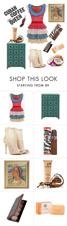 """""""#sexy summer girl"""" by misslmos ❤ liked on Polyvore featuring Alexander McQueen, Chinese Laundry, Cuba, Becca and Harrods"""
