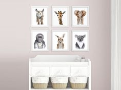 This Baby Animal Nursery Art includes 6 zoo nursery prints featuring zoo animals. The baby wall art is perfect for baby boy or baby girl as it is gender neutral in grays, browns and tans, making it perfect nursery decor.  CHOICE: If youd like to swap any of the zoo nursery prints (https://www.etsy.com/shop/TinyToesDesign?section_id=16182089) for a different piece in my shop, please put it in the note to seller with a link to the baby animal nursery art you want swappe...