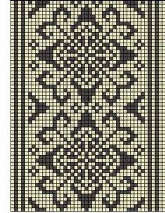 @nika Crochet Diagram, Filet Crochet, Knit Crochet, Crochet Stitches Patterns, Cross Stitch Patterns, Fair Isle Chart, Chart Design, Knitting Charts, Bane