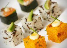 Forme perfette per il sushi, e non solo Rice Cube, Cubes, Finger Food, Cantaloupe, Zucchini, Grains, Fruit, Vegetables, Google