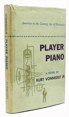 """I want to stand as close to the edge as I can without going over. Out on the edge you see all kinds of things you can't see from the center."" ― Kurt Vonnegut  Player Piano by Kurt Vonnegut, Signed First Edition  www.RareBooksFirst.com/Kurt-Vonnegut/  Rare Books from 1st Editions and Antiquarian Books  #PlayerPiano   #KurtVonnegut   #RareBooks   #RareBooksFirst   #Quotes   #Inspirational    www.RareBooksFirst.com"