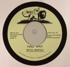 The artwork for the vinyl release of: Skyee Barnes - Half Way (Wackies) #music Dub