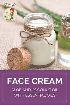 Diy face moisturizer best homemade face moisturizer pinterest mama z diy aloe face cream recipe solutioingenieria Images