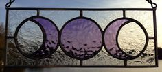 This is one of my favorites on Wiccan Supplies, Witchcraft Supplies & Pagan Supplies Experts-Eclectic Artisans: Triple Goddess Stained Glass Mini Panel w/Clear...