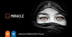 Miracle  Responsive Multi-Purpose HTML5 Template