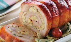 Lombo recheado de palmito Receita de carnes para Natal e Ano Novo - Culinária - MdeMulher - Ed. Abril #carne