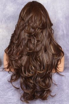 Haircuts For Long Hair With Layers, Haircuts For Wavy Hair, Long Layered Haircuts, Long Hair Cuts, Straight Hairstyles, Long Hair Short Layers, Choppy Layers For Long Hair, Curls For Long Hair, Hair In Layers
