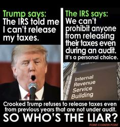 Trump is a Colossal Liar among many other Duplicitous, Disgusting things.