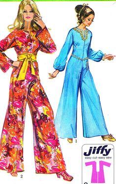 """Missy Hart"" 1970s women's jumpsuits - Google Search"