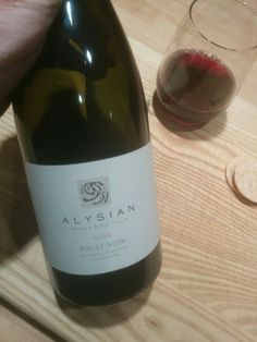 Alysian 09 pinot super well crafted Pinot Noir, Wines, Bottle, Flask, Jars