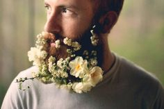 beards with flowers - Google Search