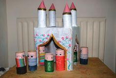 9 castle and loo roll men http://hative.com/homemade-building-themed-toilet-paper-roll-crafts/