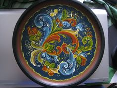 norwegian rosemaling | Norwegian Rosemaling Simple Some typical rosemaling pieces