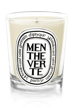 Delicious mentheverte dyptique candle... The best candles for any interior