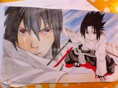 A friend wanted a sasuke drawing