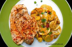Gourmet Girl Cooks: Grilled Chipotle Chicken & Southwestern Style Skillet Squash