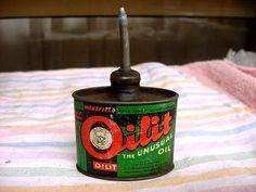 RARE Castrol Wakefield Oilit Oval Handy Oiler Oil Can | eBay