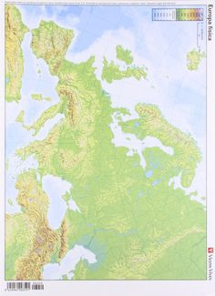 Europa (fisico) (mapas mudos a todo color) (pack 50 uds.) Geography Map, Geology, Around The Worlds, Diagram, Europe, Explore, Poster, Art, Socialism