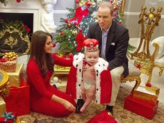 Prince George as a Reindeer! Imagining William & Kate's First Christmas as Parents  Christmas, The British Royals, The Royals, Camilla Parke...