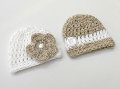 Boy Girl Twins Outfit / Hats for Twins / Boy by AdrisLittleCuties, £19.49