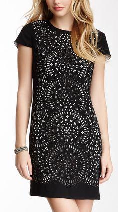Miley Laser Cut Shift Dress - when I get skinny!