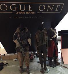 Star Wars Rogue One costumes on display at Nuremberg Toy Fair 2016