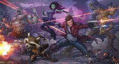 Guardians of the Galaxy by PatrickBrown.deviantart.com on @deviantART
