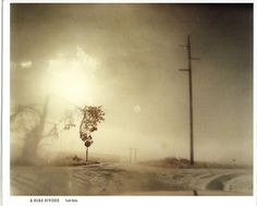 A road Divided by Todd Hido.