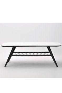 Coffee table , black &white ,retro and modern / Ellos.se Home Soffbord  Strict
