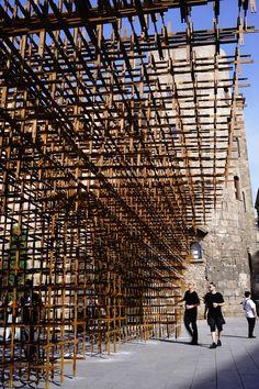 BCN Re.Set - Identity Pavilion / Urbanus + La Salle   ArchDaily