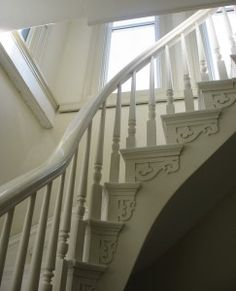 Beautiful old house.... stairs to tower