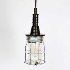 Hanging Miner's Lamp $89 Let Liv