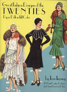 Great Fashion Designs of the TWENTIES BY Tom Tierney