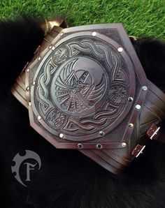 Dwarf large belt by Feral-Workshop on DeviantArt