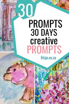 30 days 30 prompts is a creative journeyin the exploration of the unseen. A prompt guides you to a starting point and sets you on a path that is not defined Junk Mail, Different Media, The Day Will Come, Challenge Me, 30 Day, Experiment, Prompts, Something To Do, Flow