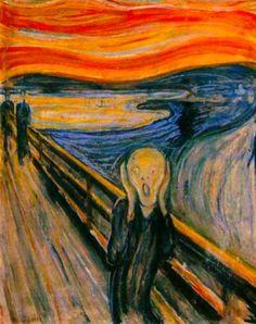 Angústia e desespero existencial: O Grito de Edvard Munch, Expressionismo