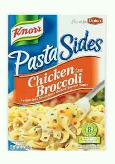 Best Knorr Pasta Sides Chicken And Broccoli Recipe On