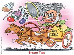 dr puneet agrawal's world of Jokes: Cartoons on Price Rise in NAMO Government............