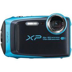 Fujifilm 16.4-megapixel Finepix Xp120 Digital Camera (sky Blue)