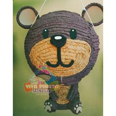 Piñata oso  de peluche... Recuerden nuestra promoción de Piñata cualquier modelo + kilo y medio de dulces + palo piñatero por $550