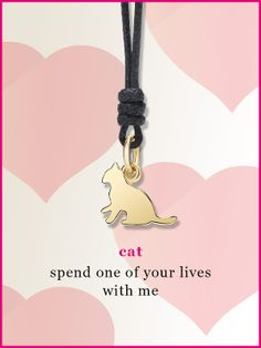 Happy Dodo Day with the romantic cat charm.
