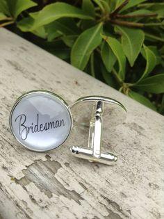 Bridesman Cufflinks Wedding Cufflinks