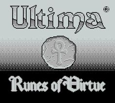 Ultima : Runes of Virtue