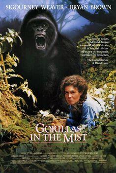 Gorilas en la niebla. La aventura de Dian Fossey 1988