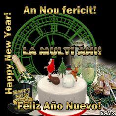 An Nou fericit! An Nou Fericit, Happy New Year, Birthday, Desserts, Food, Tailgate Desserts, Birthdays, Deserts, Essen