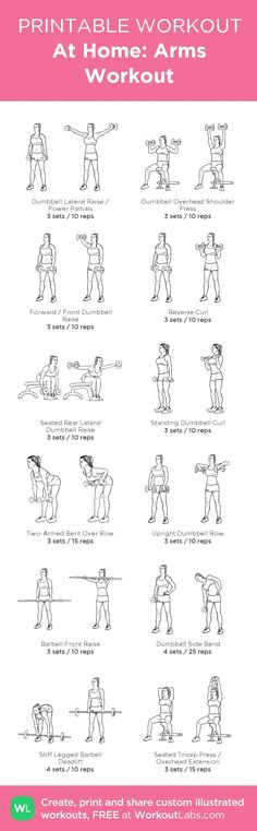 At Home: Arms Workout